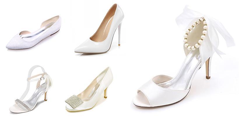 603cd7c5fb 10 sapatos de noiva lindos para se casar em grande estilo!