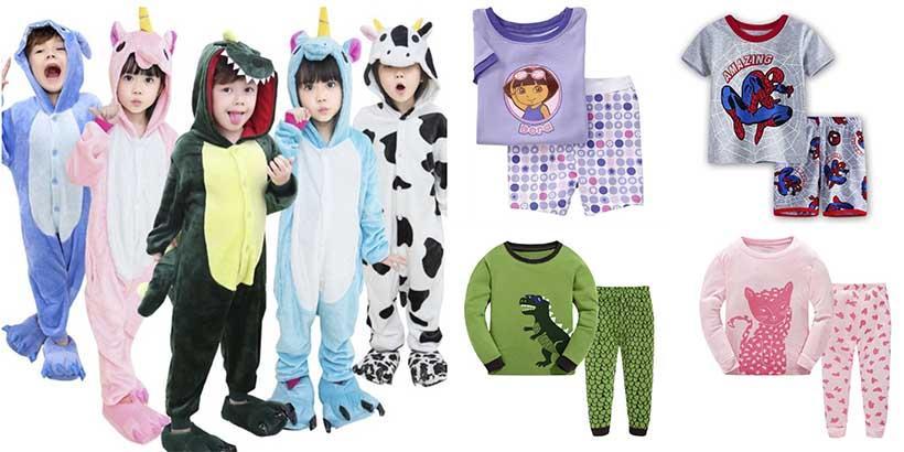 10 pijamas infantis que VÃO fazer a ALEGRIA da criançada!