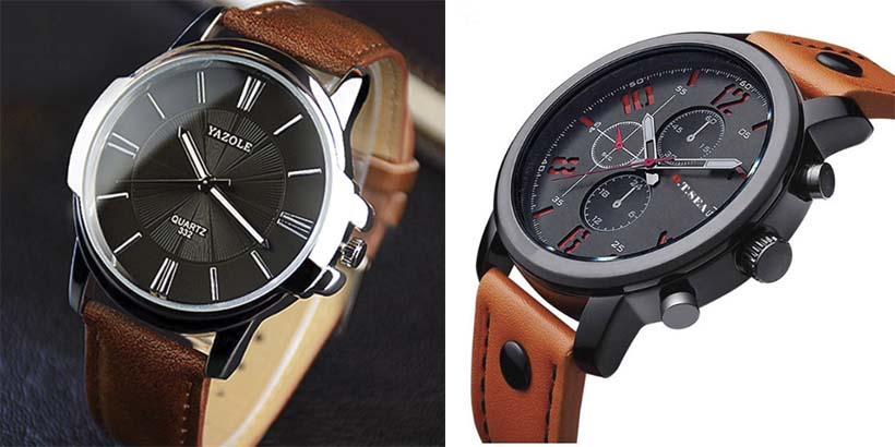 Relógios estilosos  Masculinos do Aliexpress com ótima qualidade 😎