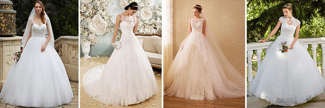 10 vestidos de noiva PERFEITOS que vão te deixar MAIS LINDA que uma PRINCESA!