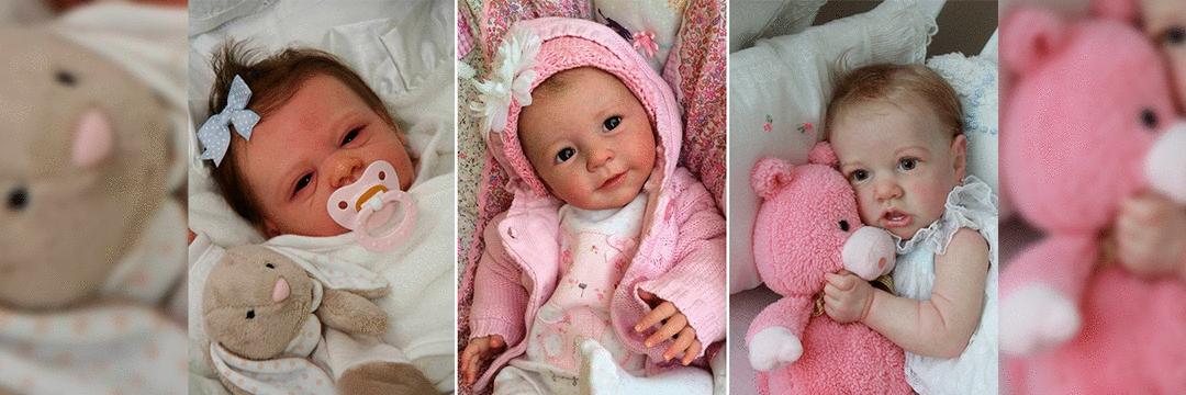 10 bebês reborn PERFEITAS que você vai AMAR ter por perto!