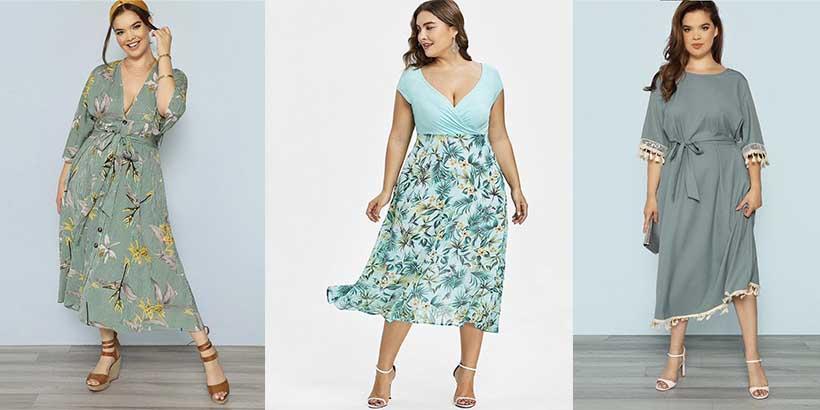 10 vestidos plus size para você curtir a volta do calor linda, leve e solta!