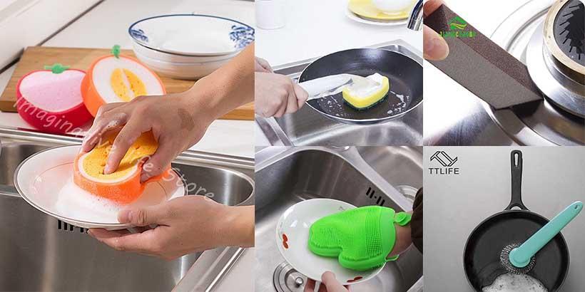 10 produtos para te ajudar, se você ODEIA lavar a louça!