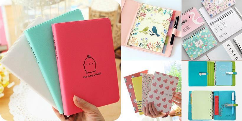 10 Cadernos de anotações, planners e agendas para ORGANIZAR sua VIDA!