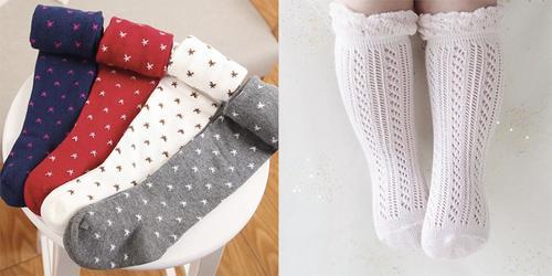 10 meias fofas para as crianças e bebês mais lindos do mundo!