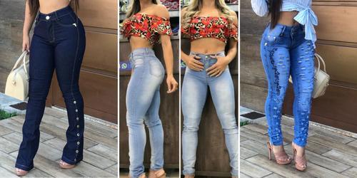 Jeans para ficar com o BumBum na nuca!