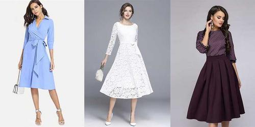 10 vestidos elegantes e que seguem a moda evangélica para você arrasar!