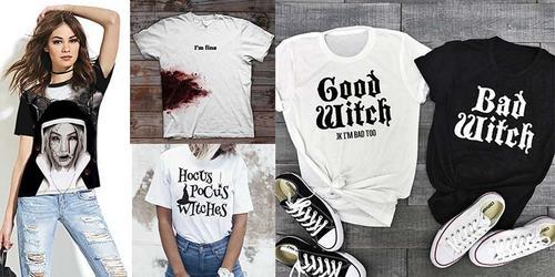 10 camisetas PERFEITAS pra VIVER o HALLOWEEN!
