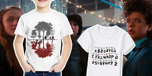 10 camisetas e acessórios infantis para as crianças que são loucas por Stranger Things!