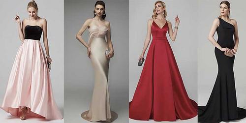 10 vestidos de FORMATURA, para quem NÃO gosta de bordados!